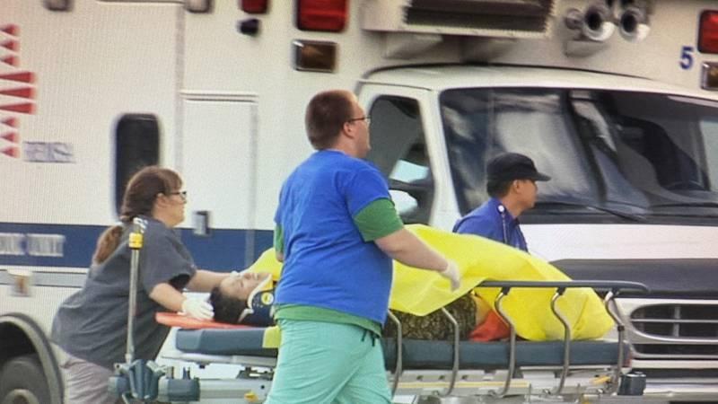 Reno Air Races crash victim transported