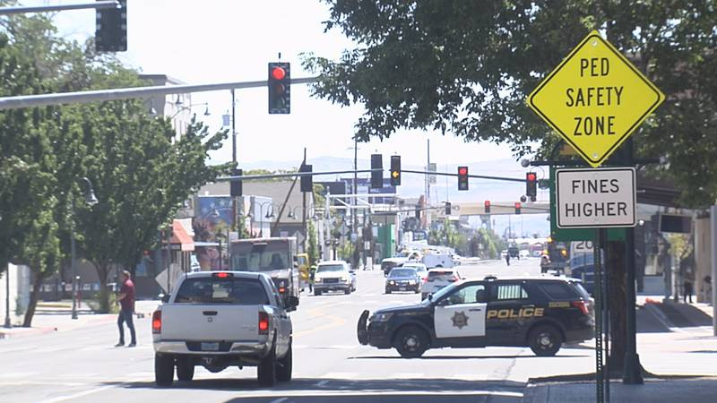A new Pedestrian Safety Zone is now in Reno.