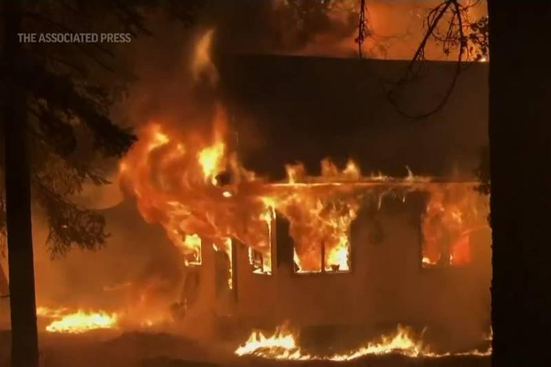 Dixie Fire AP screenshot