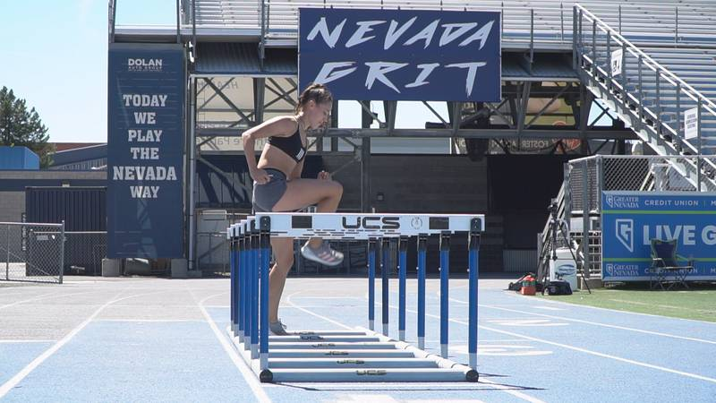 Nevada's Nicola Ader will try to claim another All-American title at the NCAA Outdoor...