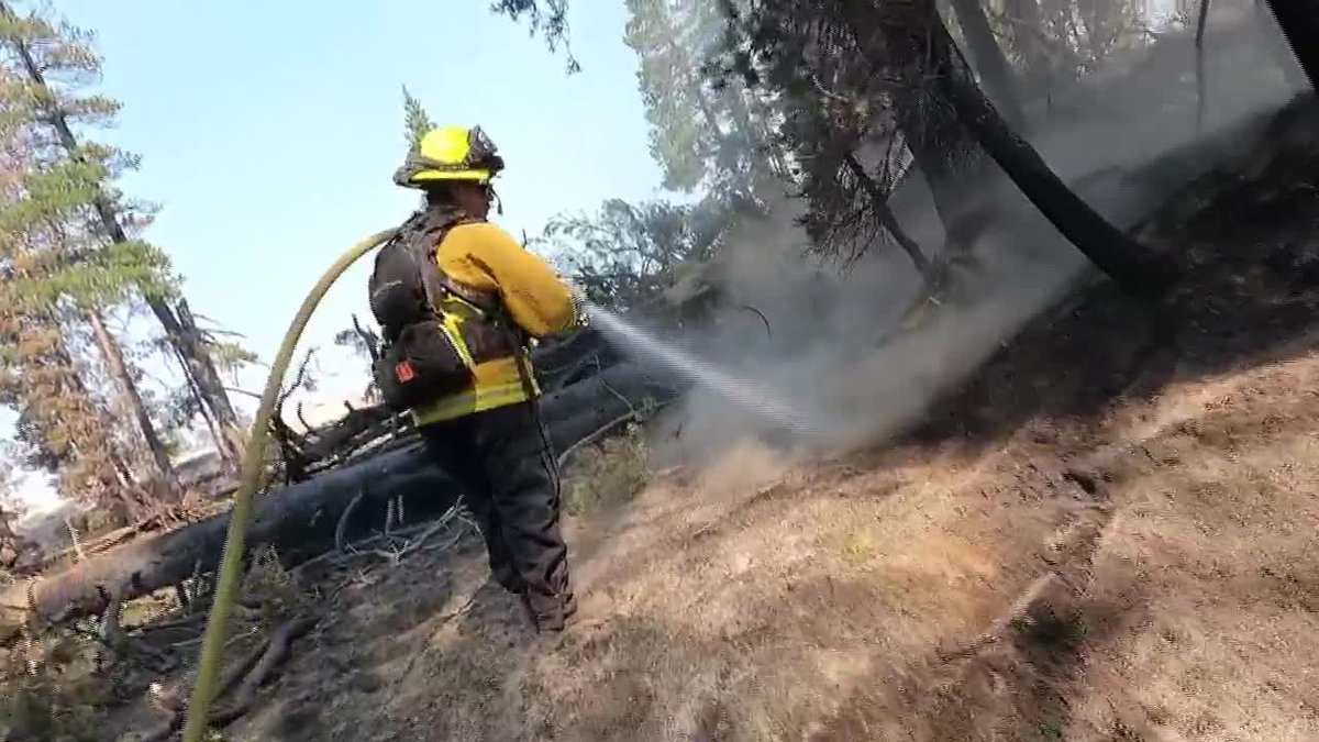 The Caldor Fire is one of 73 large wildfires that have plagued the U.S. in 2021.