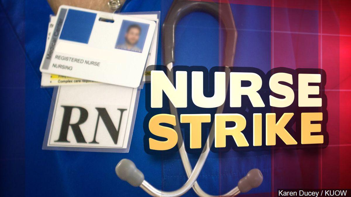 Nurse Strike Photo: Karen Ducey / KUOW