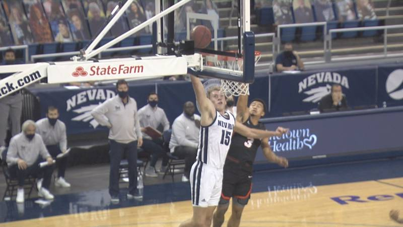 Zane Meeks scored 18 points and grabbed 11 rebounds off the bench for the sophomore's first...