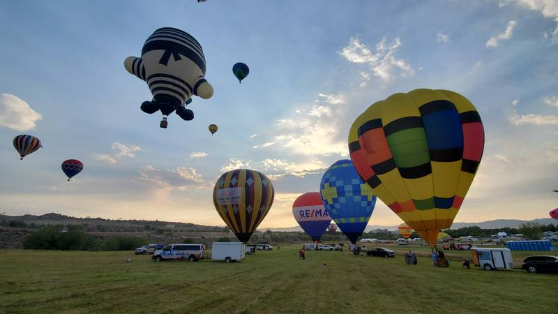 A sneak peek of the Great Reno Balloon Race which begins Friday.