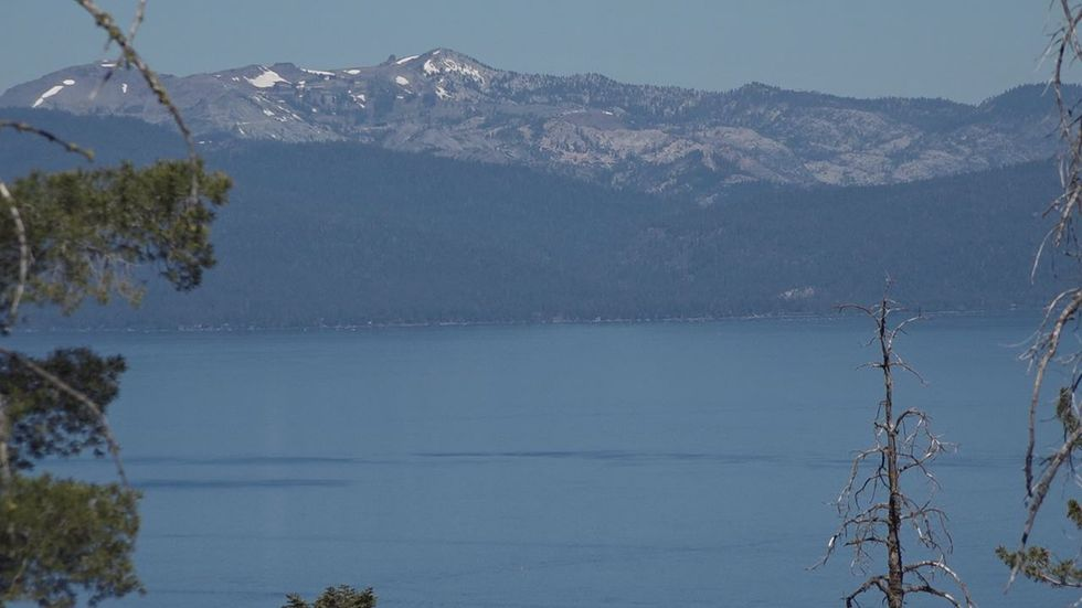 Picture of Lake Tahoe from the Rim Trail