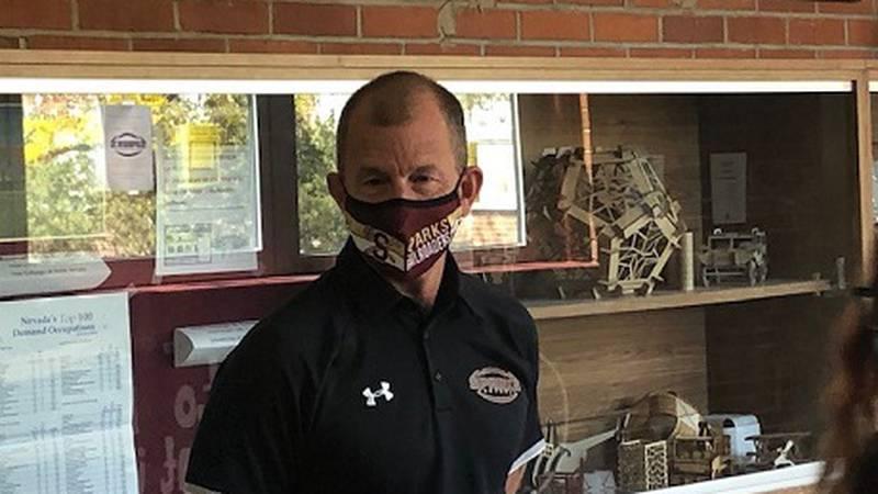 Kevin Carroll Principal of Sparks High School