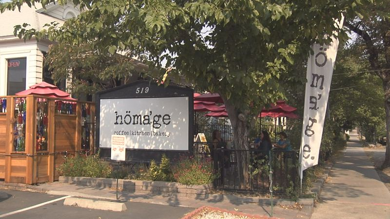 Homage, a bakery/coffee shop on just outside of Downtown Reno, is one of seven small businesses...