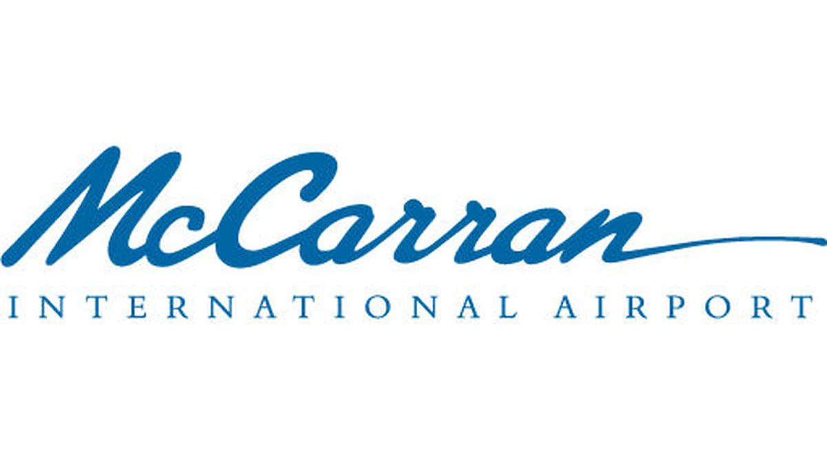 McCarran International Airport logo.
