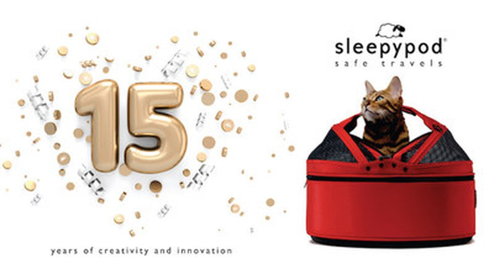 Sleepypod®, a company known for making safety tested pet products, celebrates 15 years...