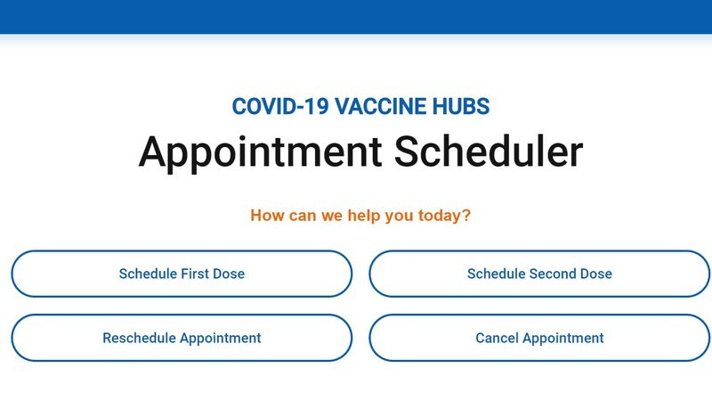 Washoe County launched a new tool to help schedule COVID-19 vaccine appointments.