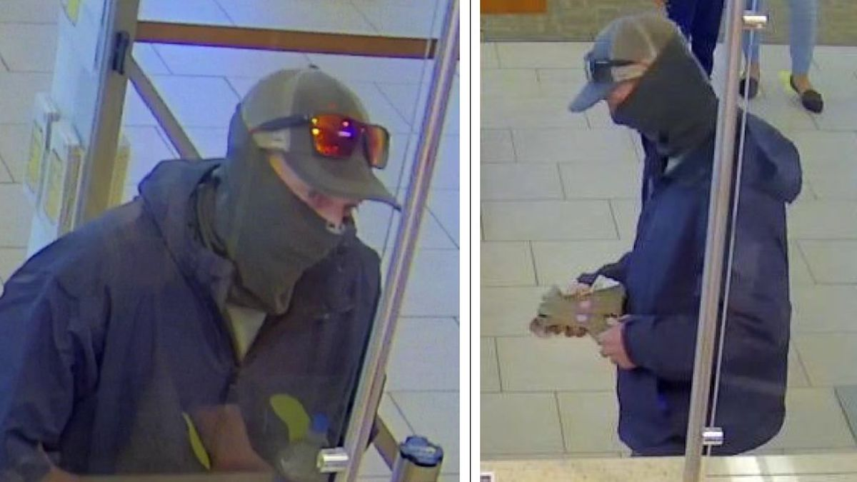South Lake Tahoe Police are looking for this man for a bank robbery.