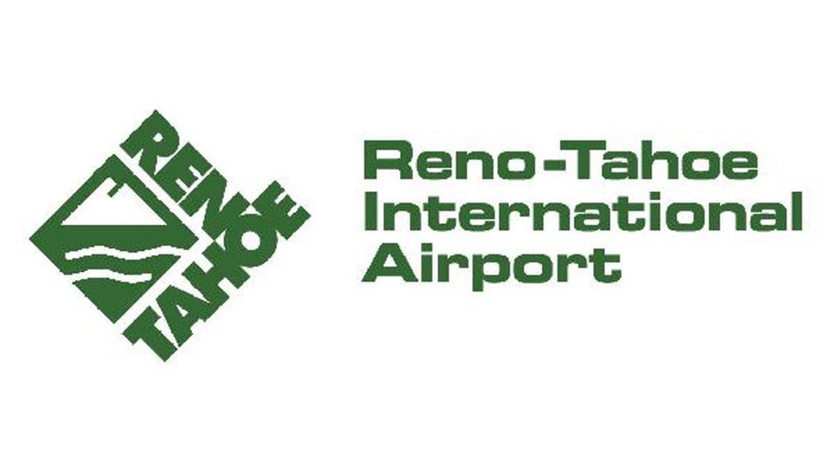 Reno-Tahoe International Airport logo.