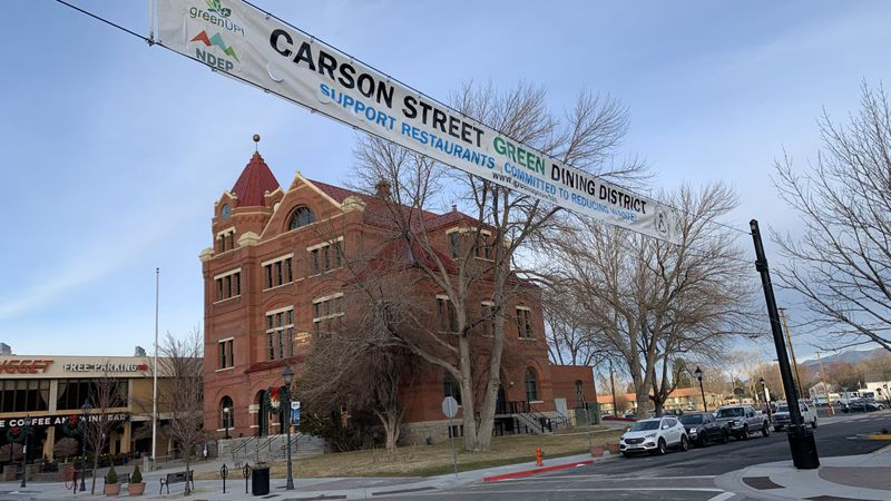 The Carson City Green Dining District includes restaurants that have committed to reducing...