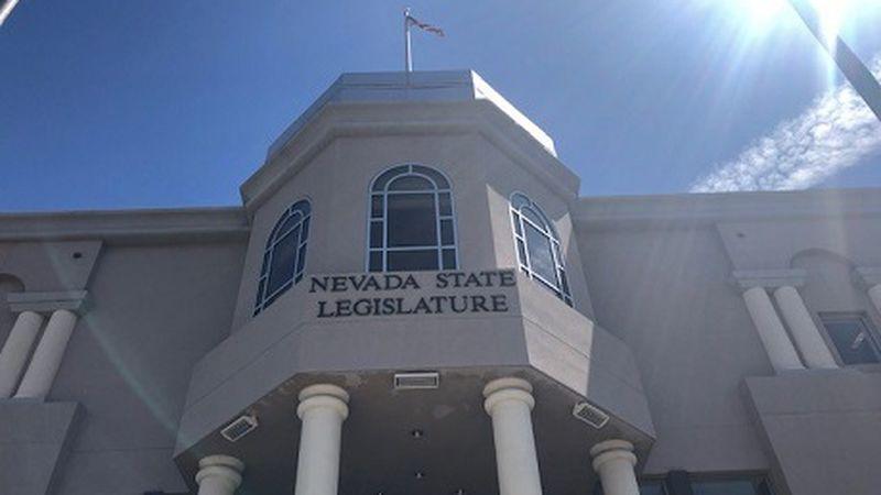 Exterior of Nevada Legislature in Carson City