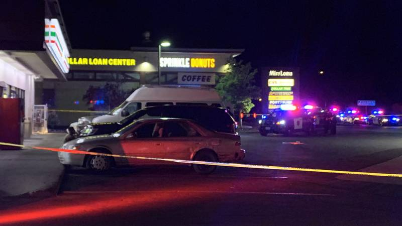Police responded to the 7-Eleven just before 11 PM on Sunday evening.
