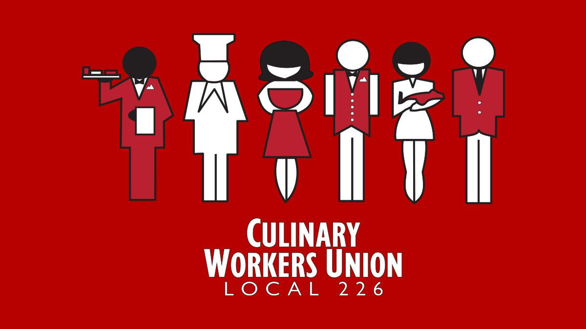 Culinary Workers Union Local 226 logo