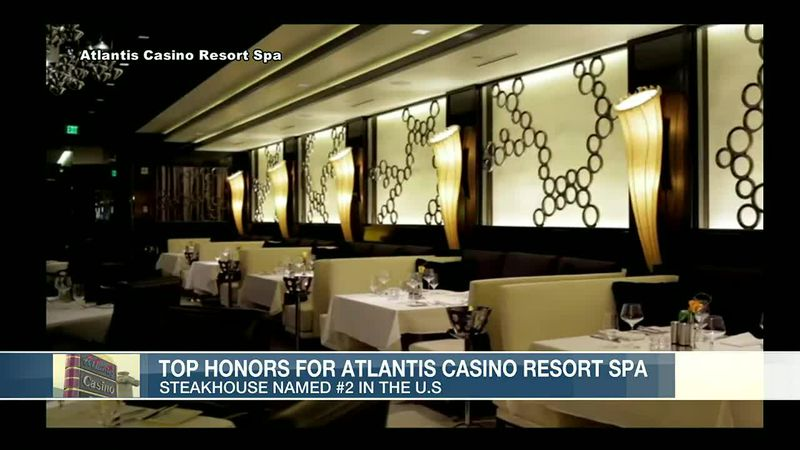 The Atlantis Resort Casino Spa is celebrating some big honors.