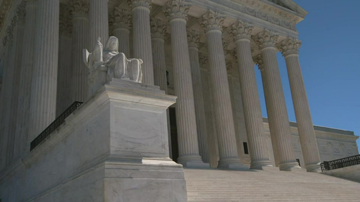 FILE - This file photo shows the Supreme Court in Washington.