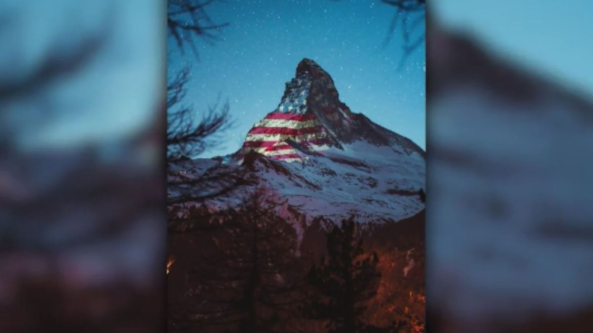 Zermatt Tourism (Light Art by Gerry Hofstetter / Photo by Gabriel Perren)