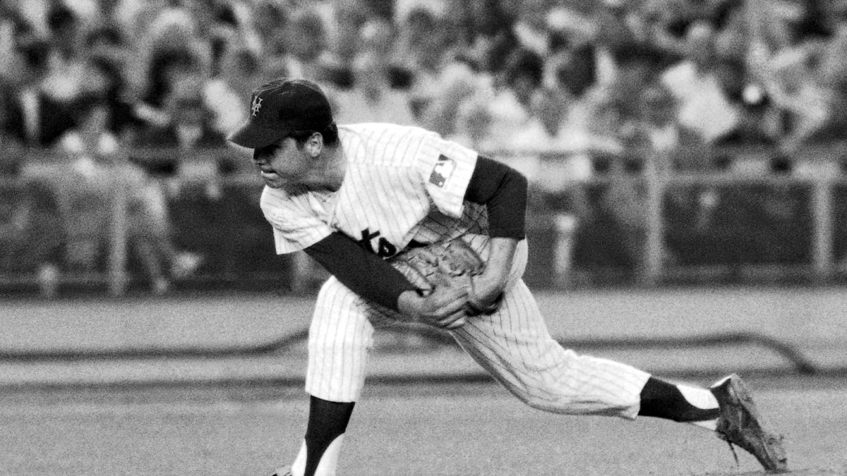 In this July 9, 1969, file photo, New York Mets right-handed pitcher Tom Seaver makes a...