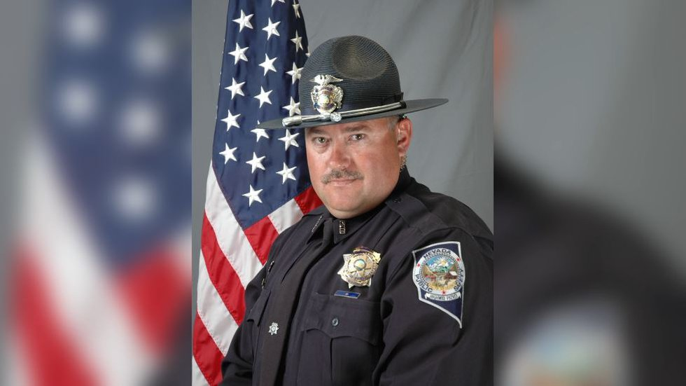 Sgt. Ben Jenkins, 47, with the Nevada Highway Patrol is survived by his wife, his mother, four...