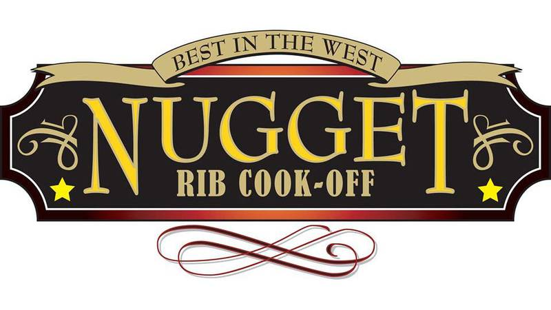 Best In the West Nugget Rib Cook Off logo.