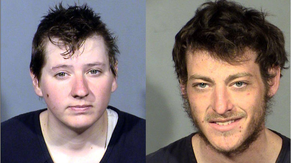 Tonya Dillard, left, and Jacob Berkovitz . Las Vegas Metropolitan Police Department photos.