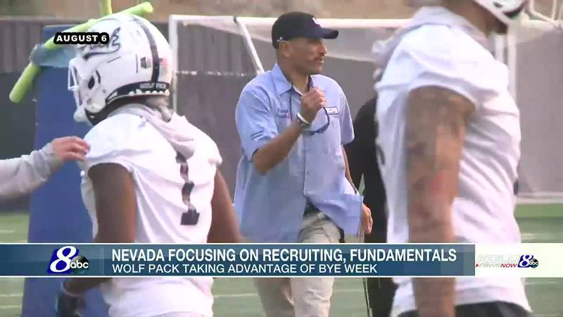 Wolf Pack using bye week to focus on fundamentals, recruiting