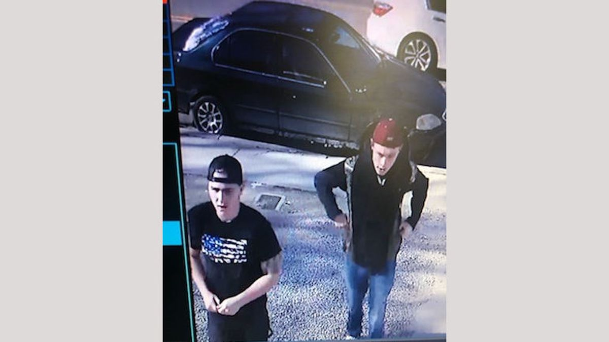 A photograph of suspects in a Carson City destruction of property case. It happened  in the Silver Sage Drive area.