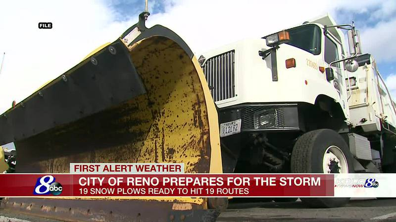 The City of Reno is preparing for the storm.