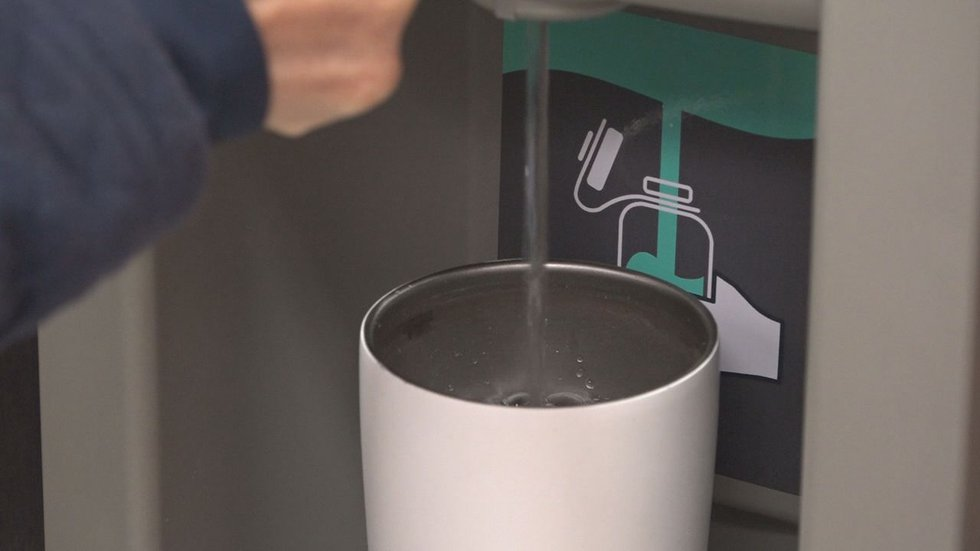 Officials encouraging people to drink Tahoe tap water to help reduce plastic waste.