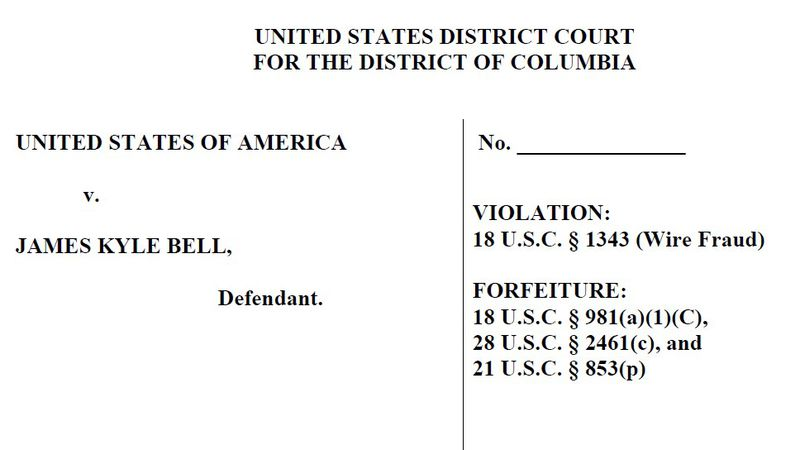 James Kyle Bell federal complaint