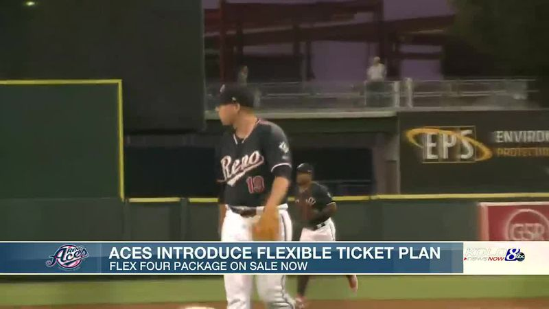 Aces release new 'Flex Four' ticket packages for 2021 season