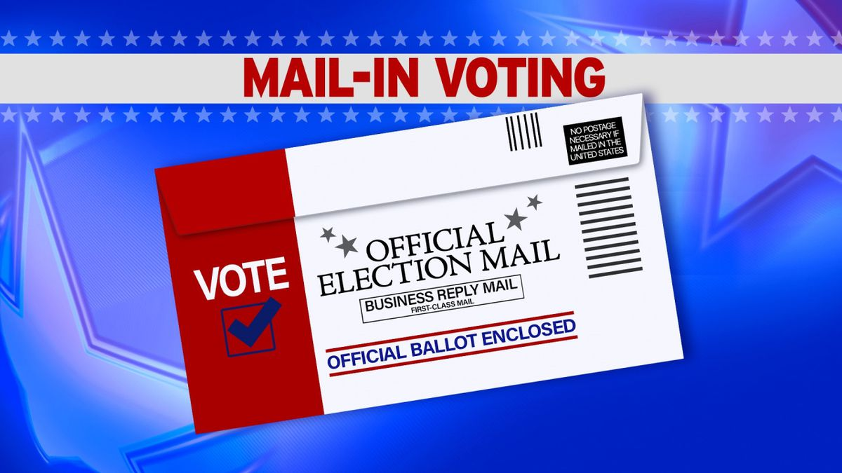 Mail-In Ballot graphic by The Associated Press.