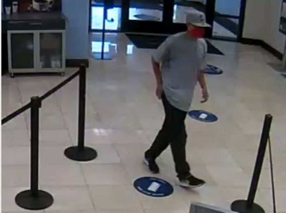 The Carson City Sheriff's Office is trying to identify this person.