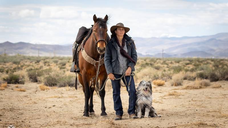 Nevada-based horseback long rider goes on a 550 mile trail