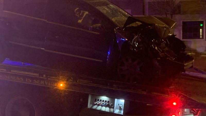 RPD says the driver has been arrested for DUI, and the passenger is being treated for serious,...