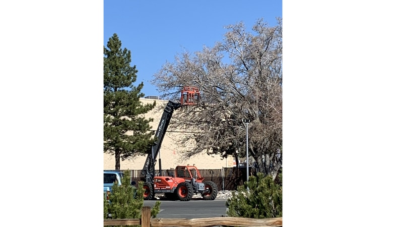 The Carson City Library will be undergoing roof repairs.
