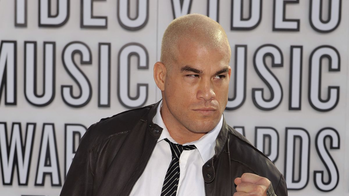 In this Sept. 12, 2010, file photo, Tito Ortiz arrives at the MTV Video Music Awards in Los...