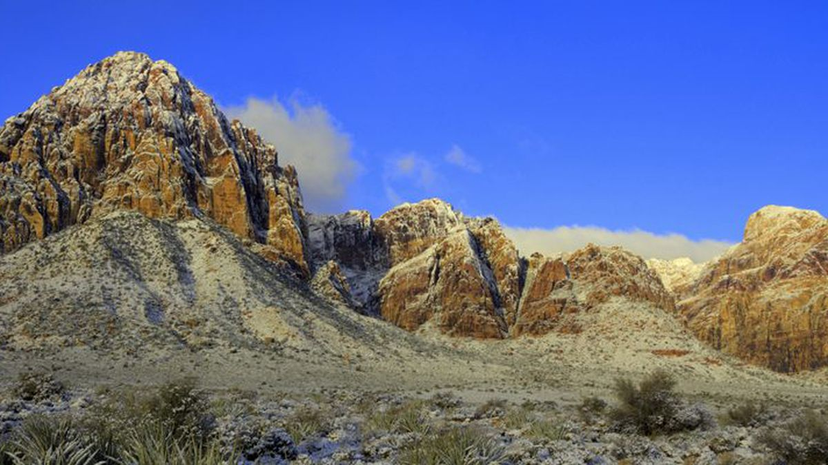 Red Rock Canyon National Conservation Area in this Bureau of Land Management picture.