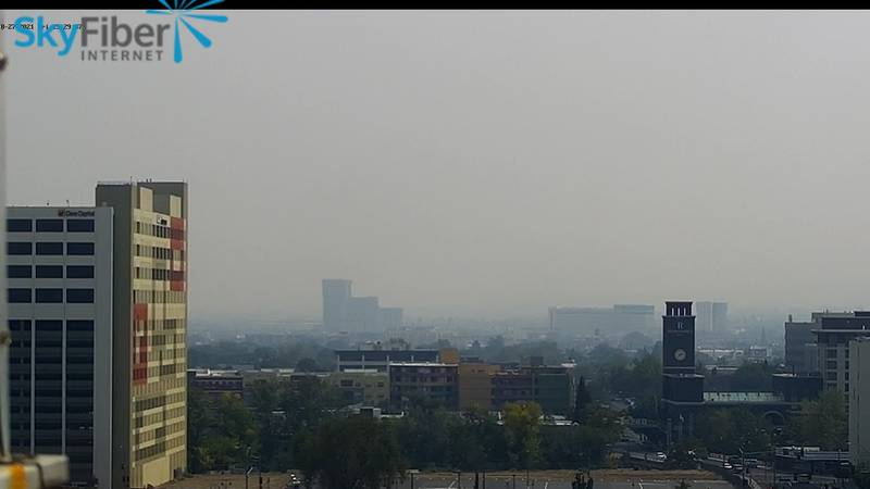 The Washoe County Health District Air Quality Management Division downgraded Monday's Stage 3...