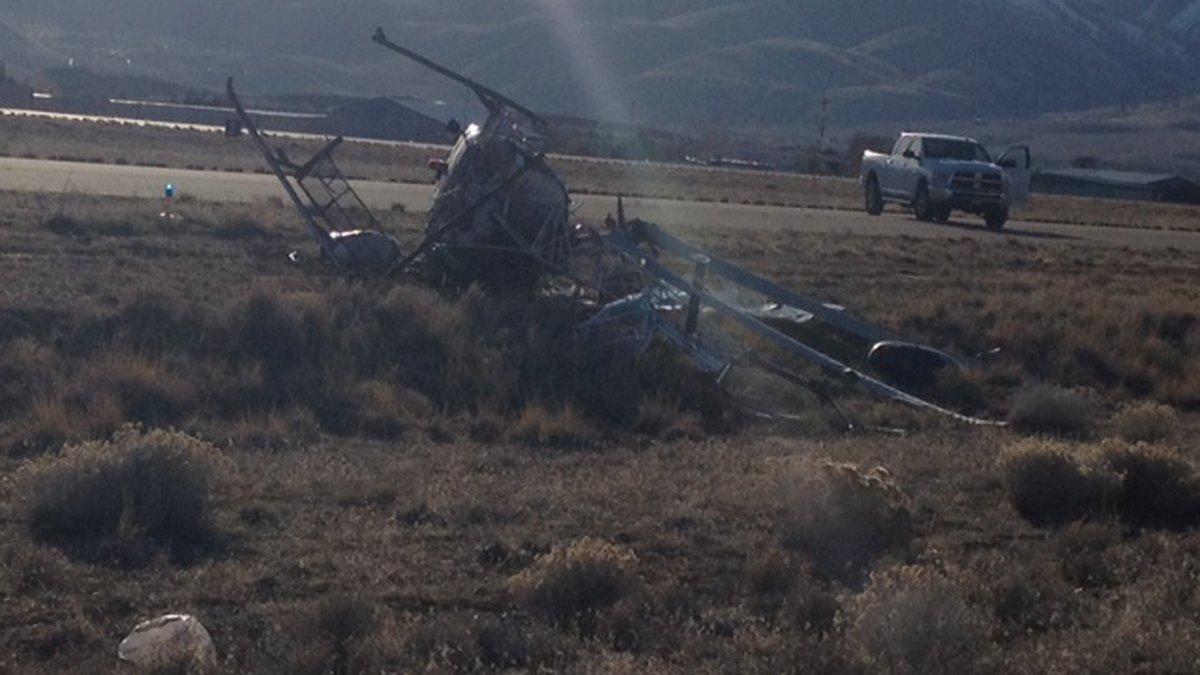 Helicopter Crash - KOLO Catherine Van