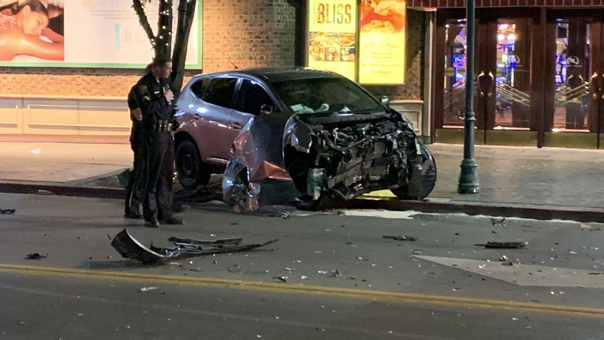 RPD investigates a crash near the intersection of N. Virginia and 5th St.