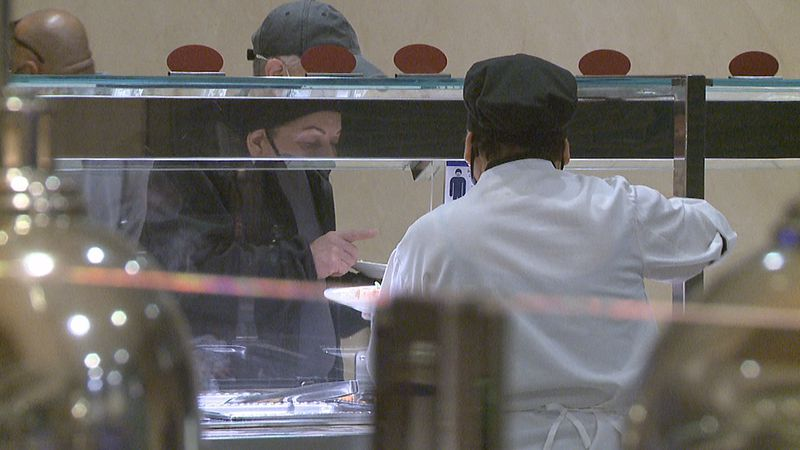 Frequent sanitizing measures in place to keep dining experience open