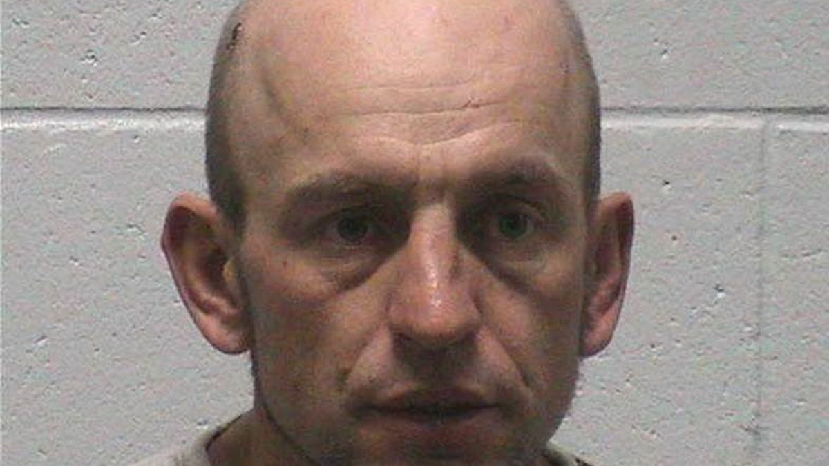 The Lyon County Sherriff's Office said Mathew Hammar was found living in the ceiling of the...