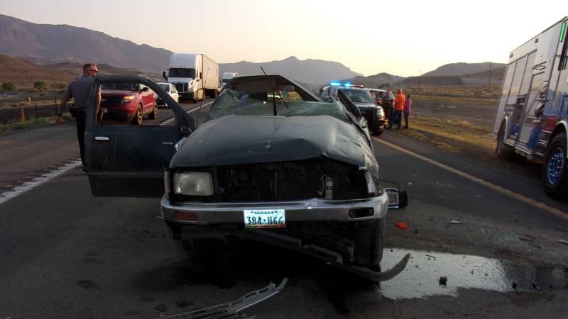 NHP responds to a fatal crash on I-80 near Wadsworth.
