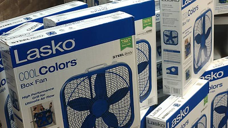 A record number of fans were donated this year to the KOLO 8 Summer Fan Drive!
