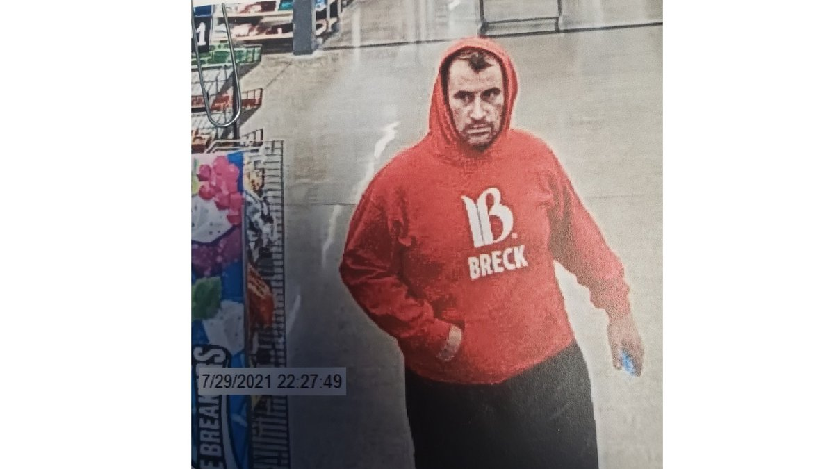 The Carson City Sheriff's Office is looking for a vehicle burglary suspect.