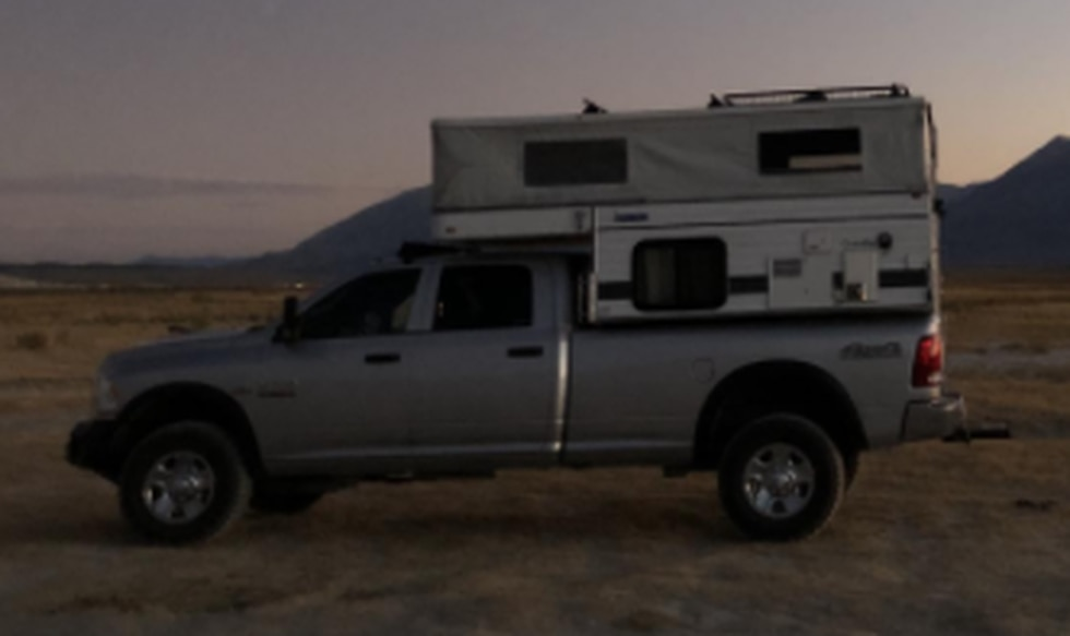 The Washoe County Sheriff's Office said someone stole a pickup truck and camper from a Verdi...