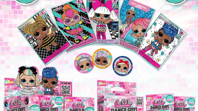 MGA Entertainment Debuts All-New L.O.L. Surprise!™ Trading Cards and Accompanying NFT